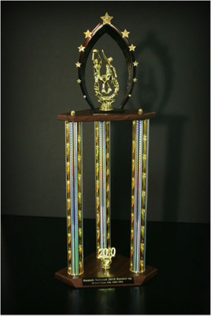 Arizona Red Shirts' Runner Ups Trophy
